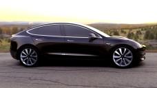 Tesla-Model-3-Side-Sunset