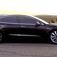 Tesla-Model-3-Side-Sunset